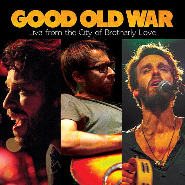 Live From The City of Brotherly Love CD - Good Old War (SH) - Hello Merch