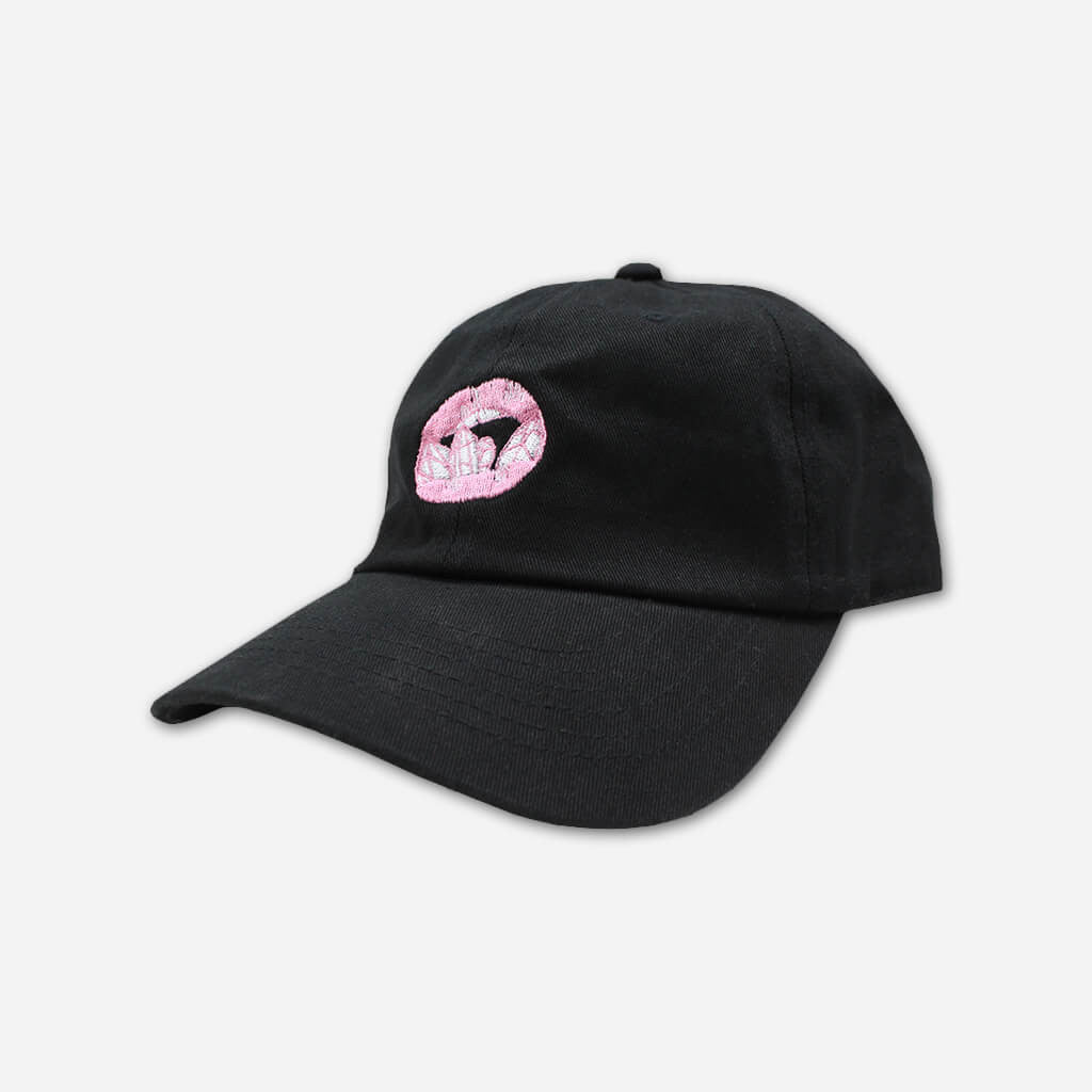 Crystal Lips Dad Hat - SHAED - Hello Merch
