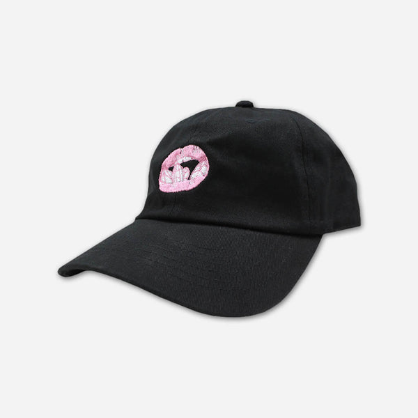 Crystal Lips Dad Hat by SHAED for sale on hellomerch.com