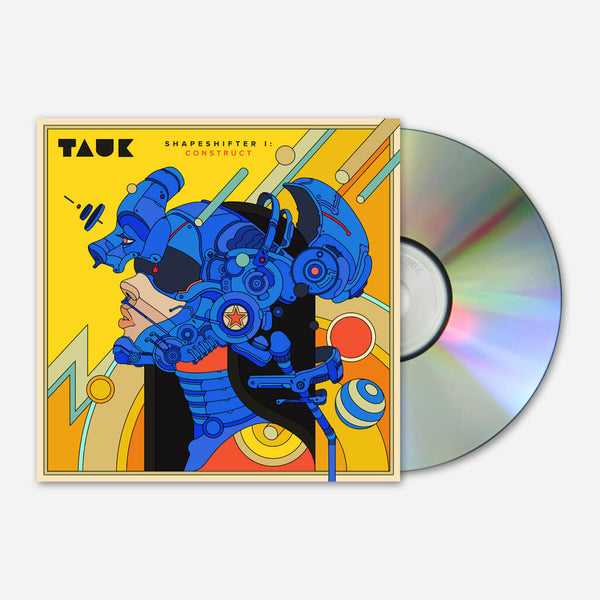 Shapeshifter I: Construct EP CD by TAUK for sale on hellomerch.com