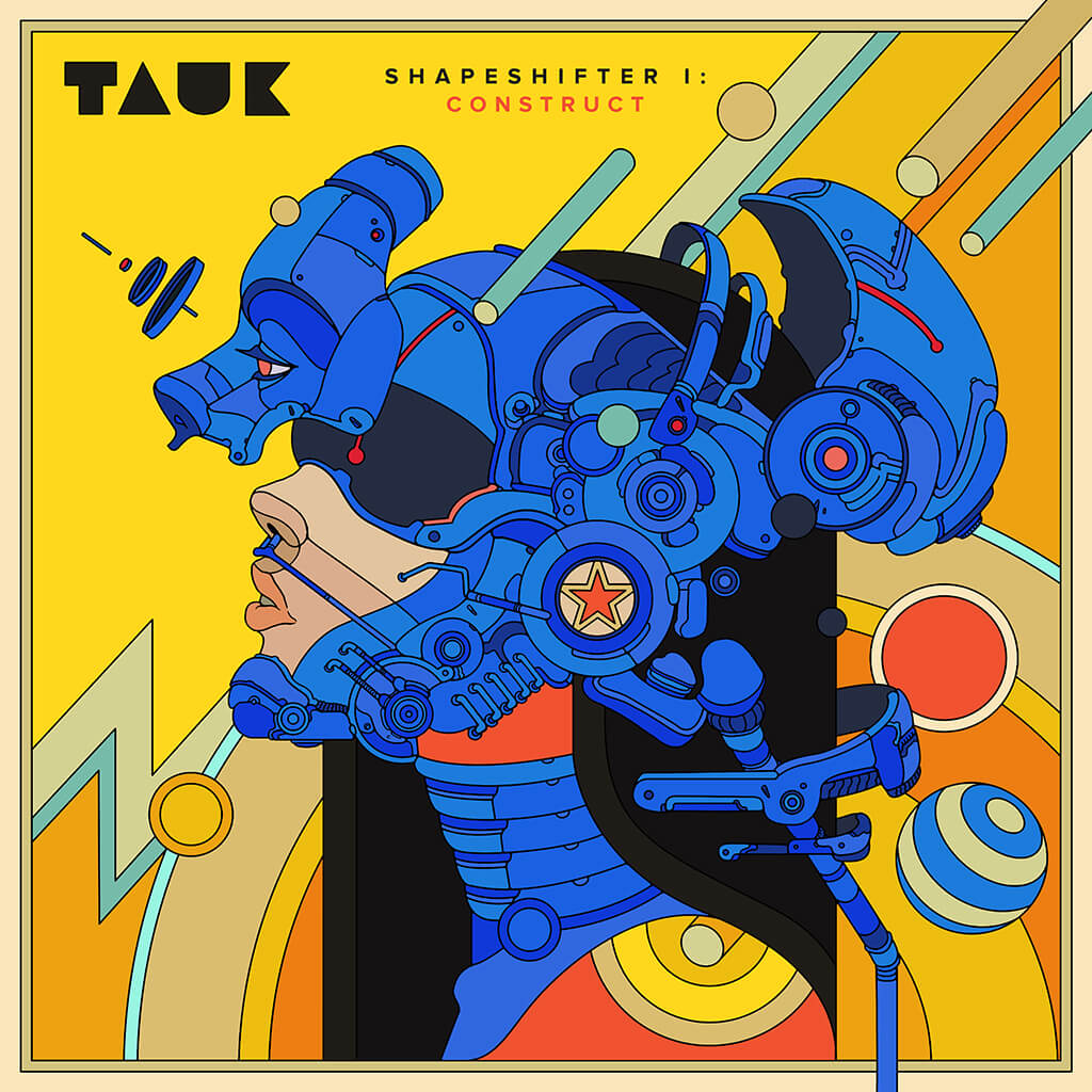 Shapeshifter I: Construct EP Digital - TAUK - Hello Merch