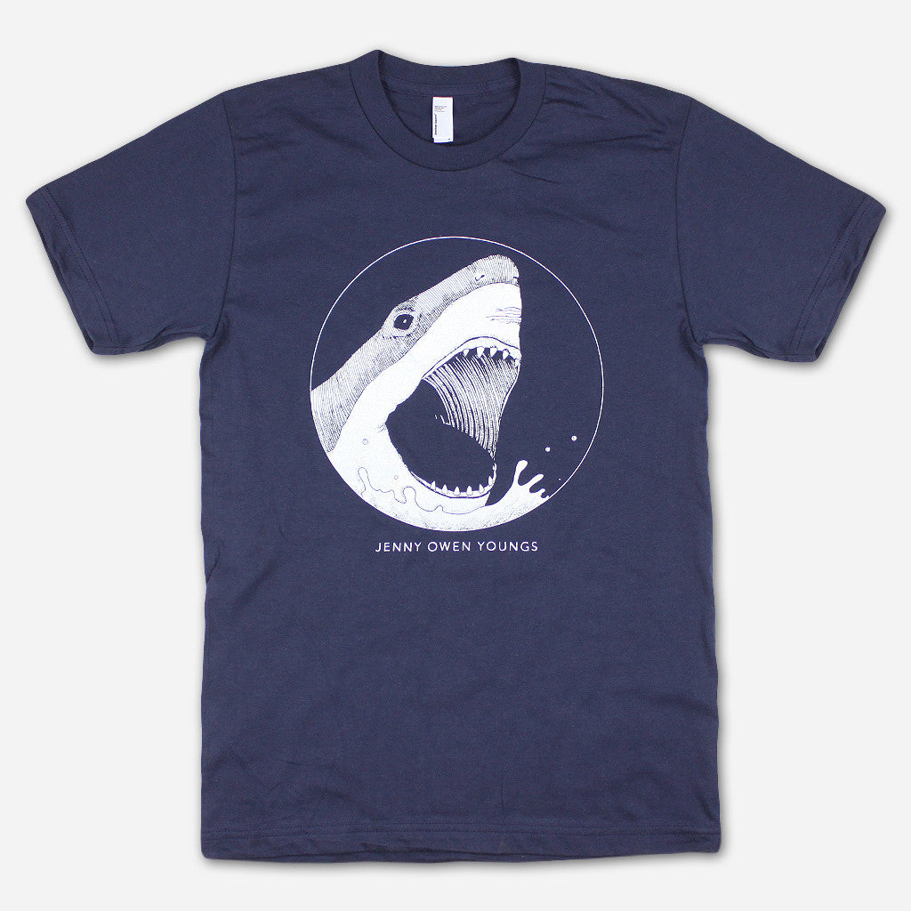 SHARK! Navy T-Shirt