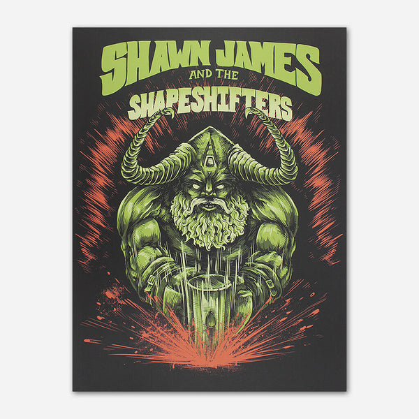 Viking Poster by Shawn James for sale on hellomerch.com