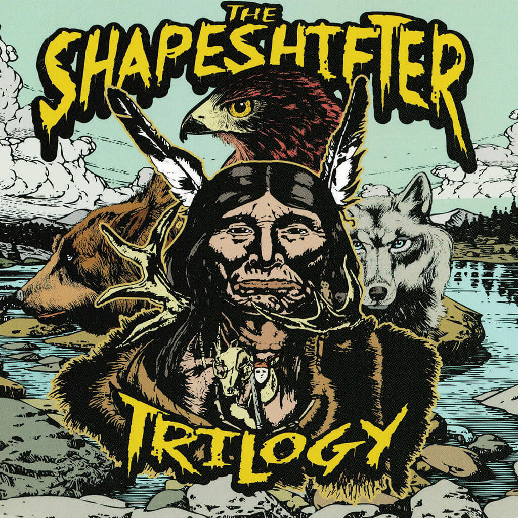 The Shapeshifter Trilogy CD - Shawn James - Hello Merch