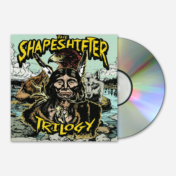 The Shapeshifter Trilogy CD by Shawn James for sale on hellomerch.com
