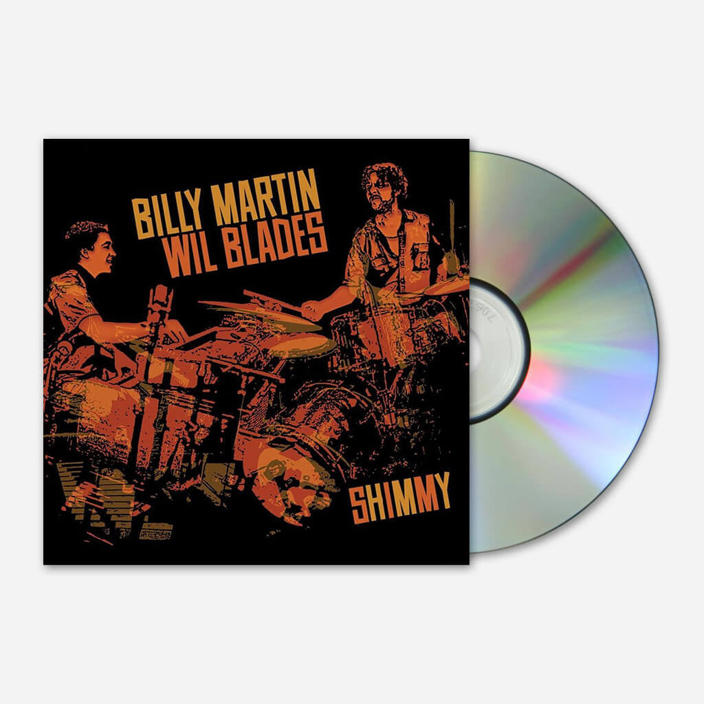 Billy Martin & Wil Blades - Shimmy CD - Billy Martin - Hello Merch