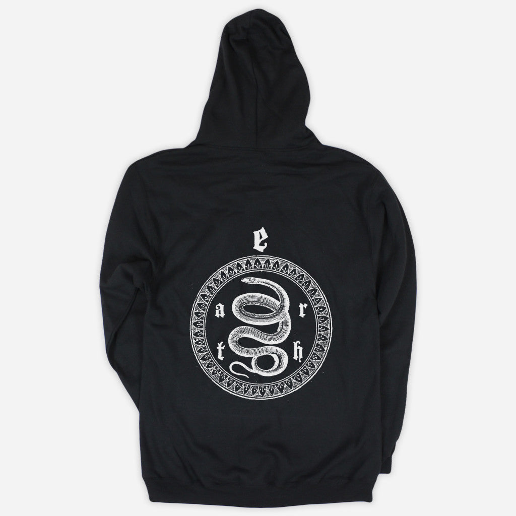 Sigil Black Zip Up Hoodie