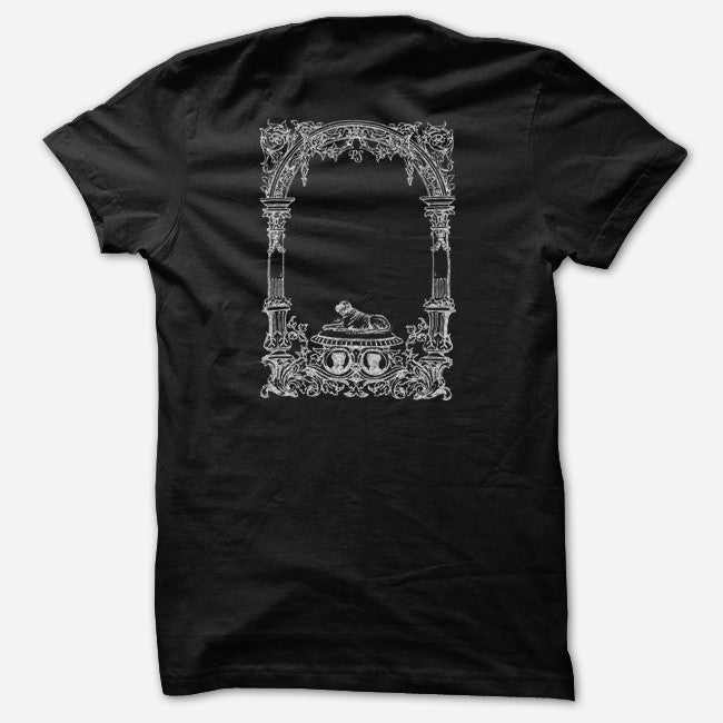 Silver Logo Black T-Shirt - Pet Symmetry - Hello Merch