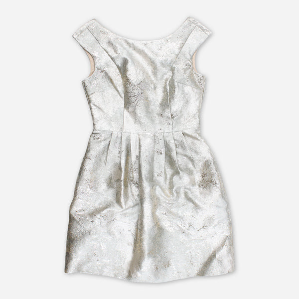 Shimmer And Shine Silver Holiday Dress by Dia Frampton for sale on hellomerch.com