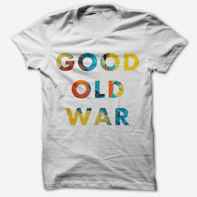 Simple BIBS White T-Shirt - Good Old War - Hello Merch