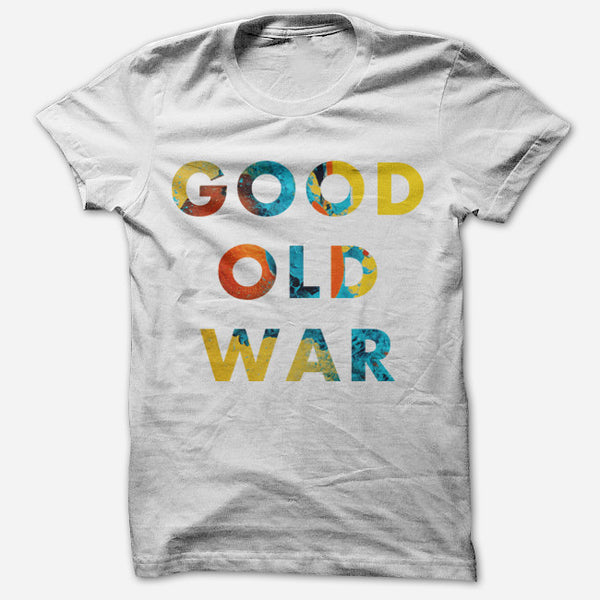 Simple BIBS White T-Shirt by Good Old War for sale on hellomerch.com
