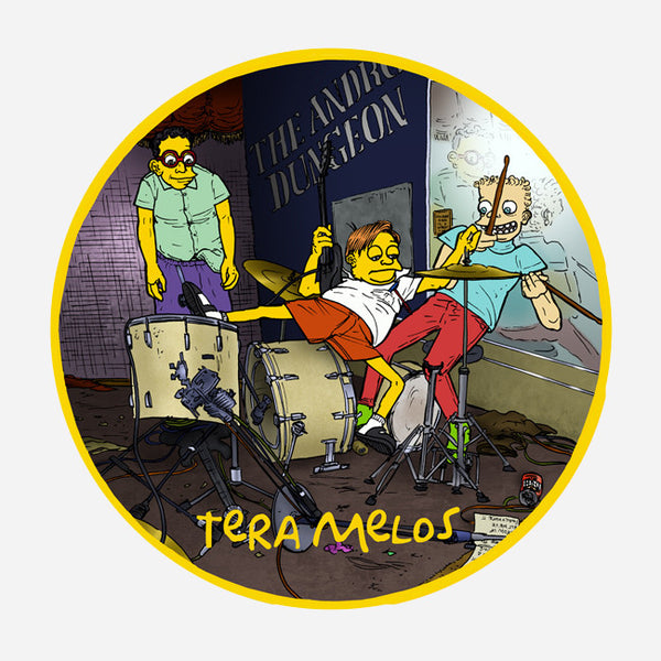 TM Vinyl Slipmat by Tera Melos for sale on hellomerch.com