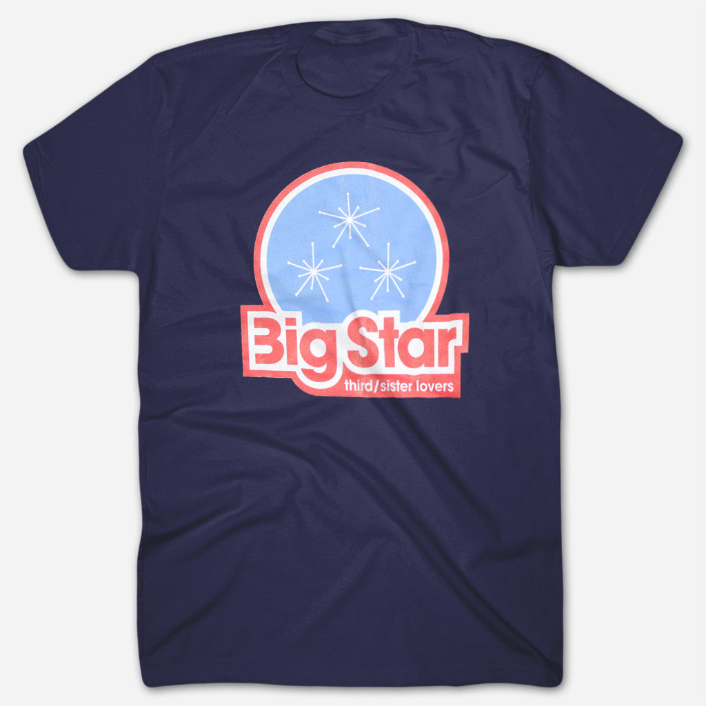 Big Star - Third / Sister Lovers Navy T-Shirt