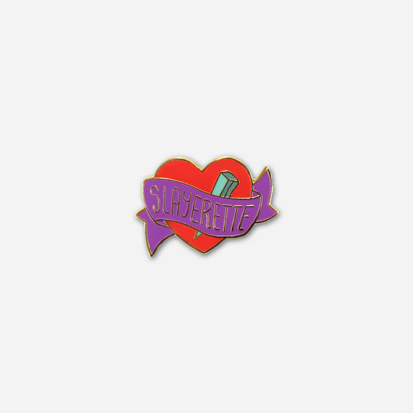 Slayerette Enamel Pin by Buffering the Vampire Slayer for sale on hellomerch.com