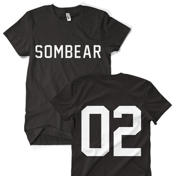 02 Jersey T-Shirt by Sombear for sale on hellomerch.com