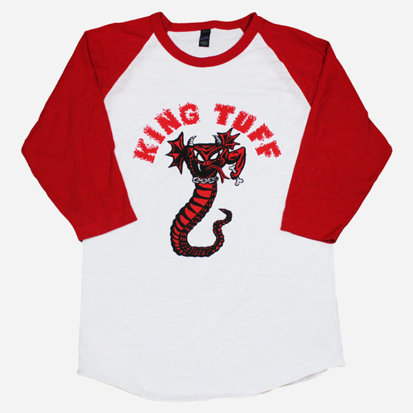 Snake Baseball T-Shirt by King Tuff for sale on hellomerch.com