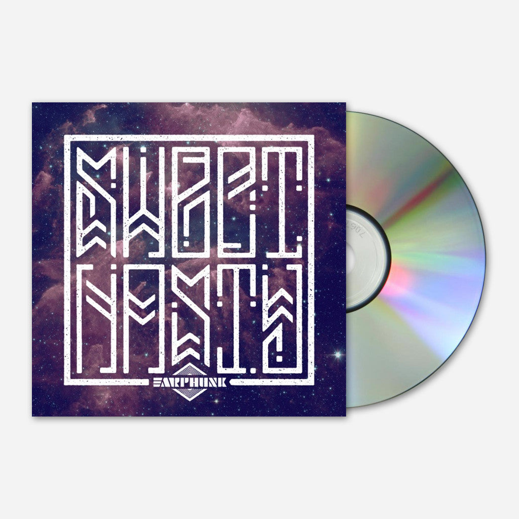 Sweet Nasty CD - Earphunk - Hello Merch