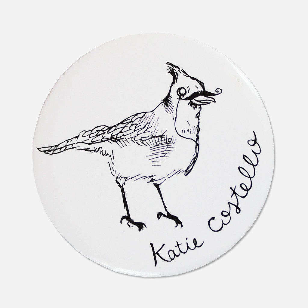 "Songbird 2.5"" Button"
