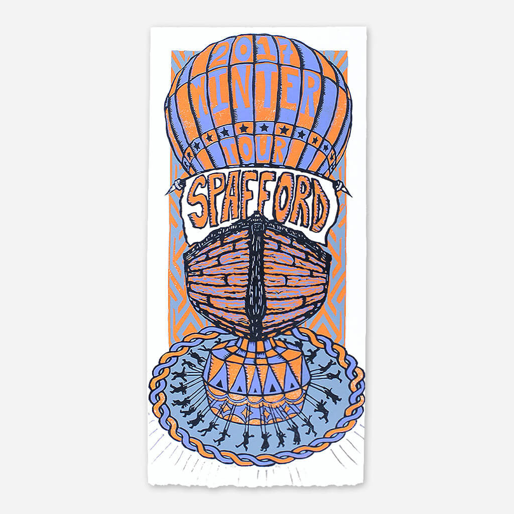 Winter 2017 Poster - Spafford - Hello Merch