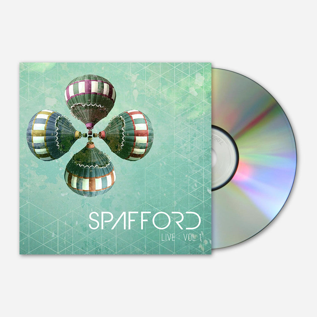 Spafford - Live: Volume 1 CD - Spafford - Hello Merch