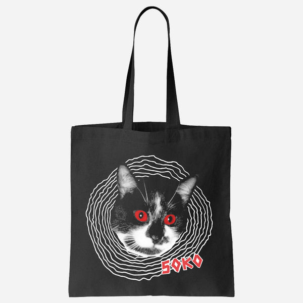 Spiral Cat Tote Bag by SOKO for sale on hellomerch.com