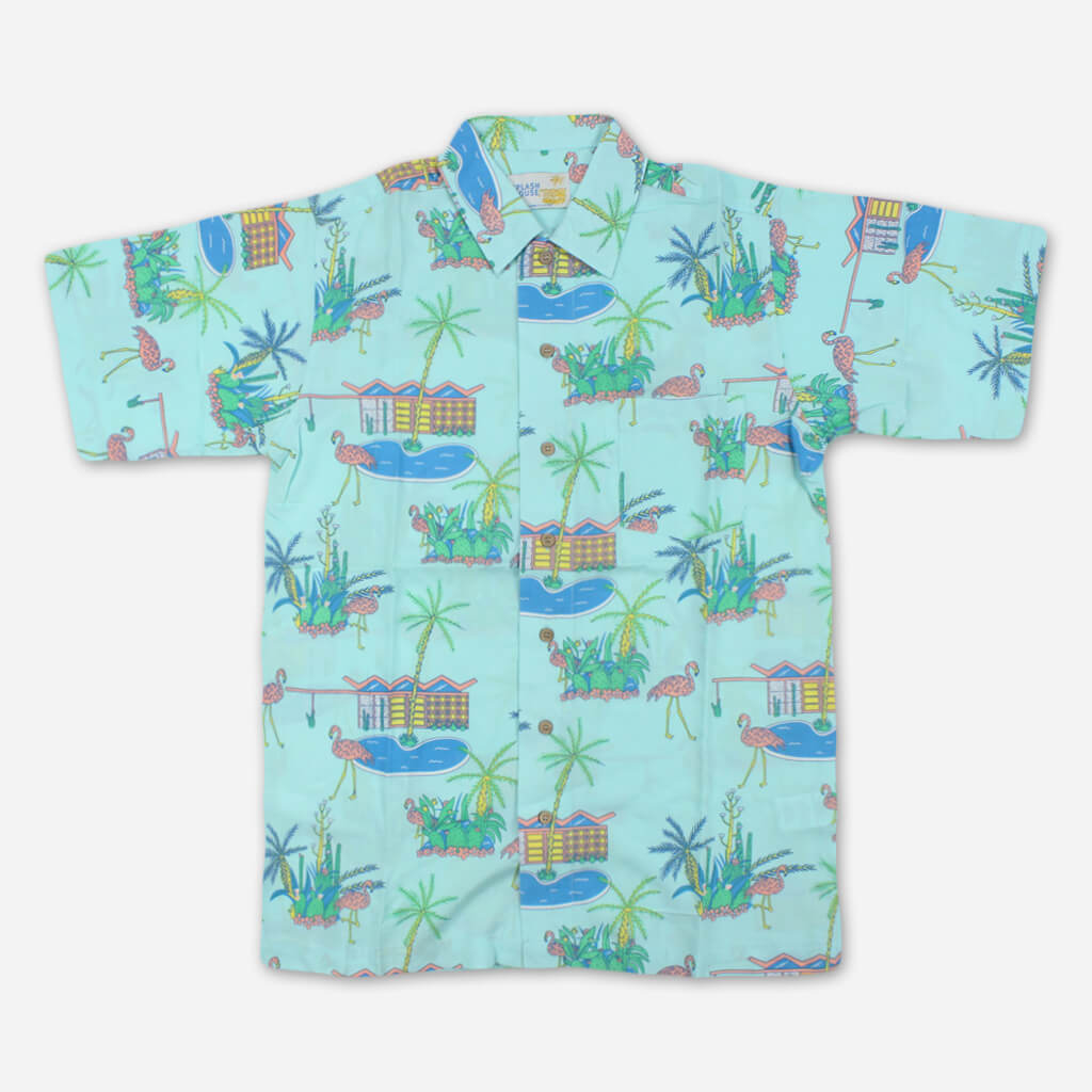 Splash House Button Up Pocket T-Shirt