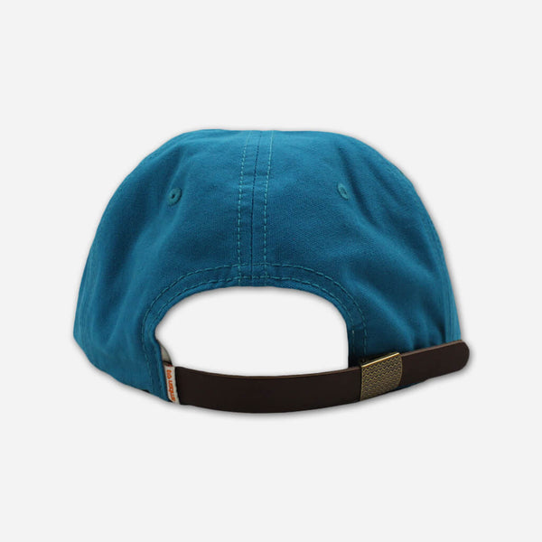 Adebisi Hat: Embroidered Teal Hat