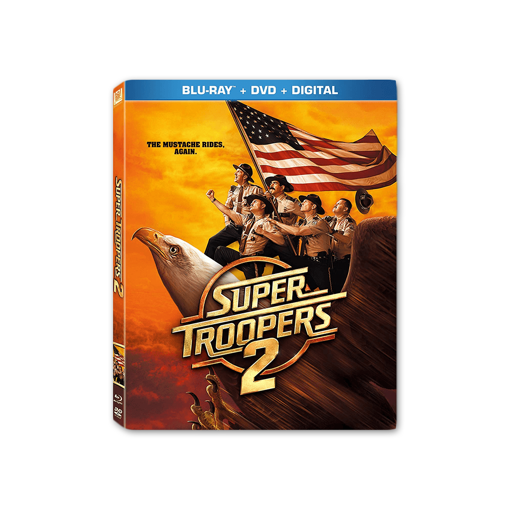 Super Troopers 2 Blu-ray, DVD & Digital Edition