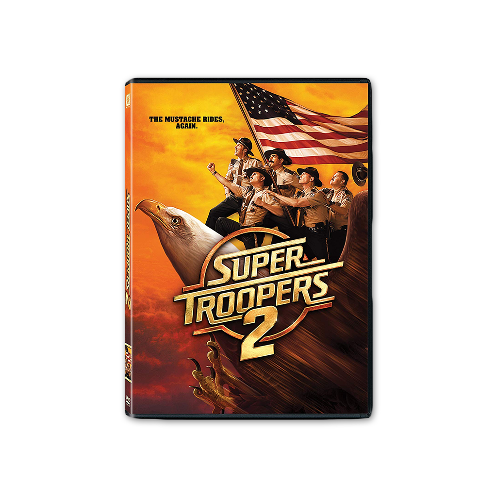 Super Troopers 2 DVD