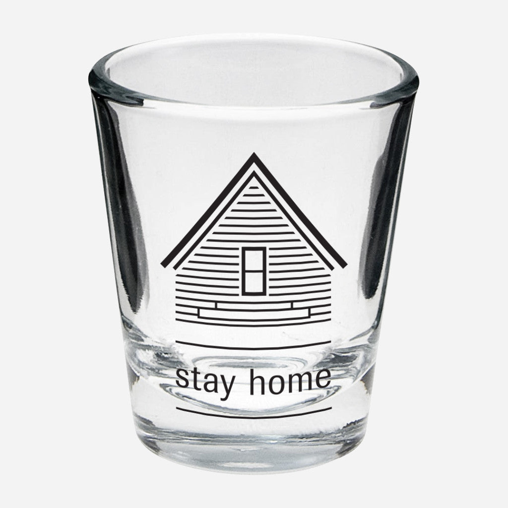 AF Stay Home Shot Glass