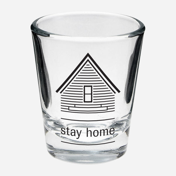 AF Stay Home Shot Glass by American Football for sale on hellomerch.com