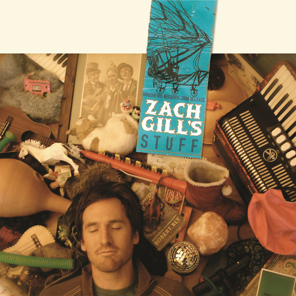 Zach Gill's Stuff CD - Zach Gill - Hello Merch