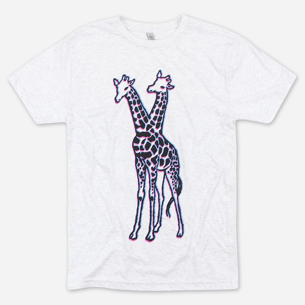 SUPERBASS!!!! Blur Heather White Tri-Blend by Giraffes? Giraffes! for sale on hellomerch.com