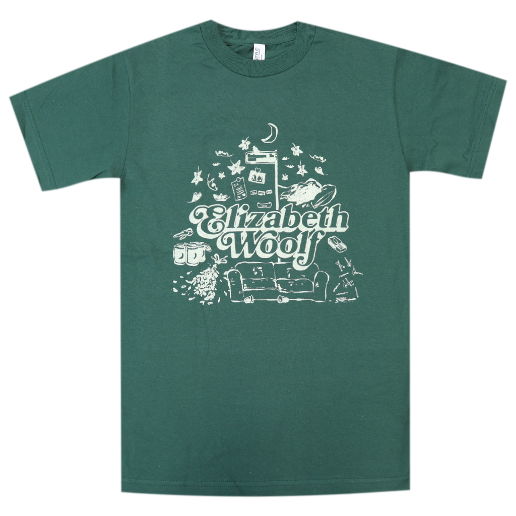 Scribble Forest Green T-Shirt