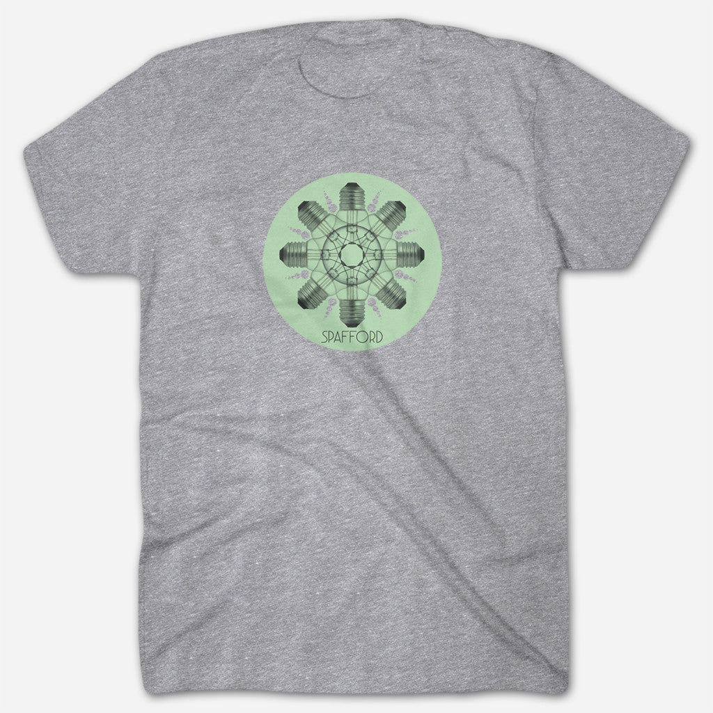 Light Bulbs Heather Grey T-Shirt