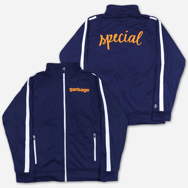 Special Zip-Up Track Jacket by Garbage for sale on hellomerch.com