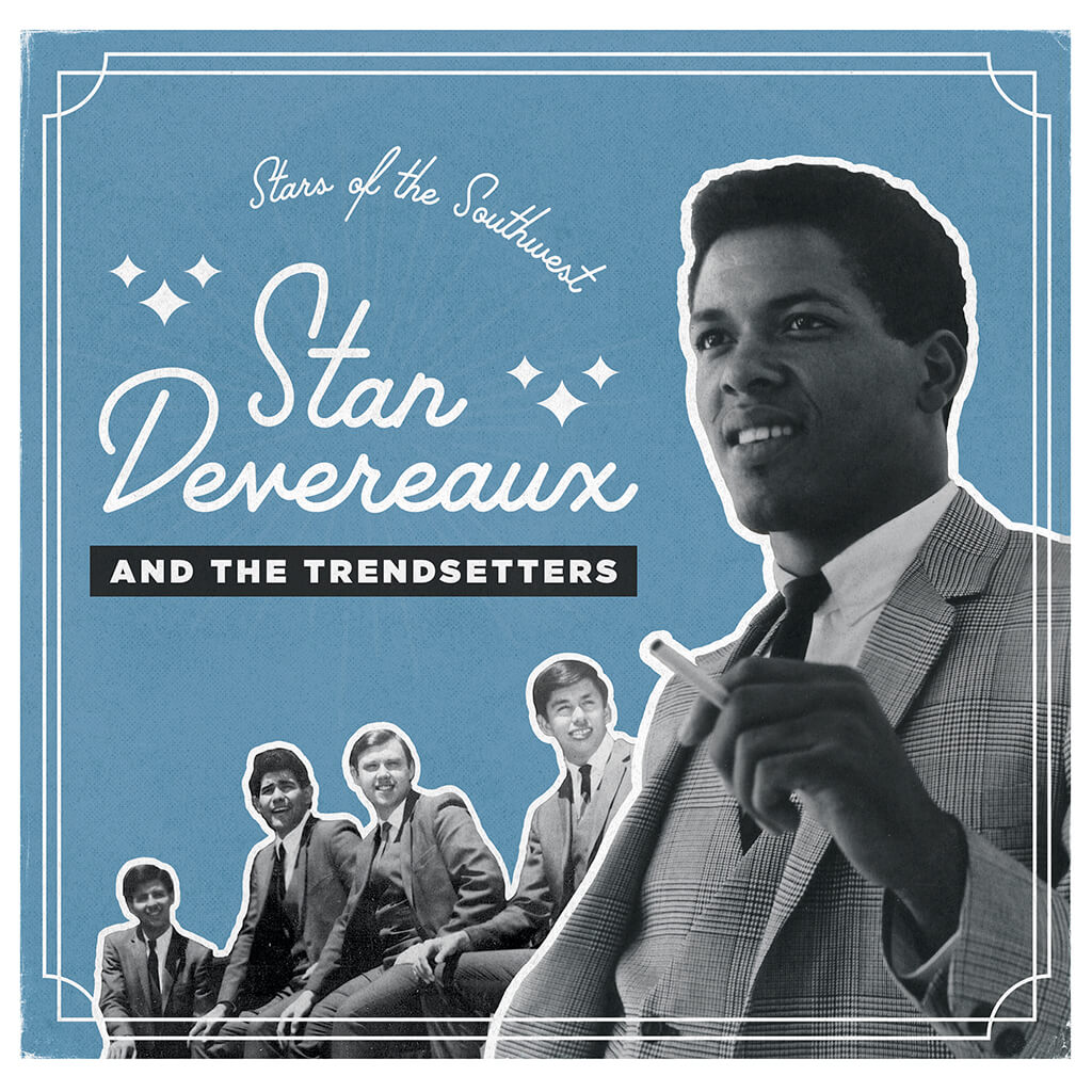 Stan Devereaux and the Trendsetters - Stars of the Southwest 10""