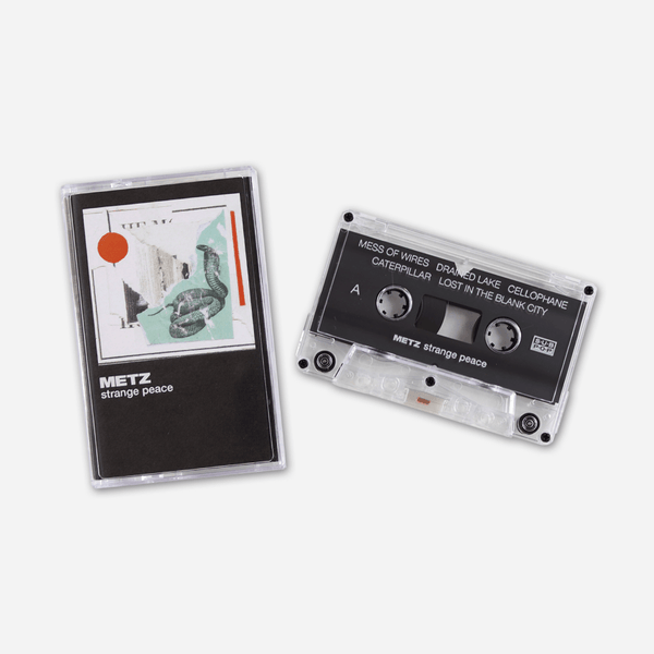 Strange Peace Cassette Tape by Metz for sale on hellomerch.com