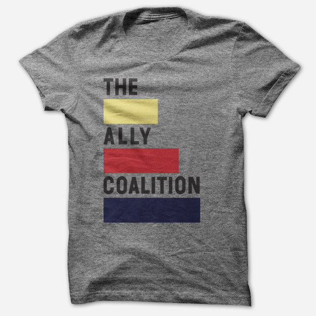 TAC T-Shirt - The Ally Coalition - Hello Merch