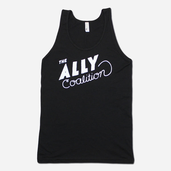 Rachel Black Poly-Cotton Tank by The Ally Coalition for sale on hellomerch.com