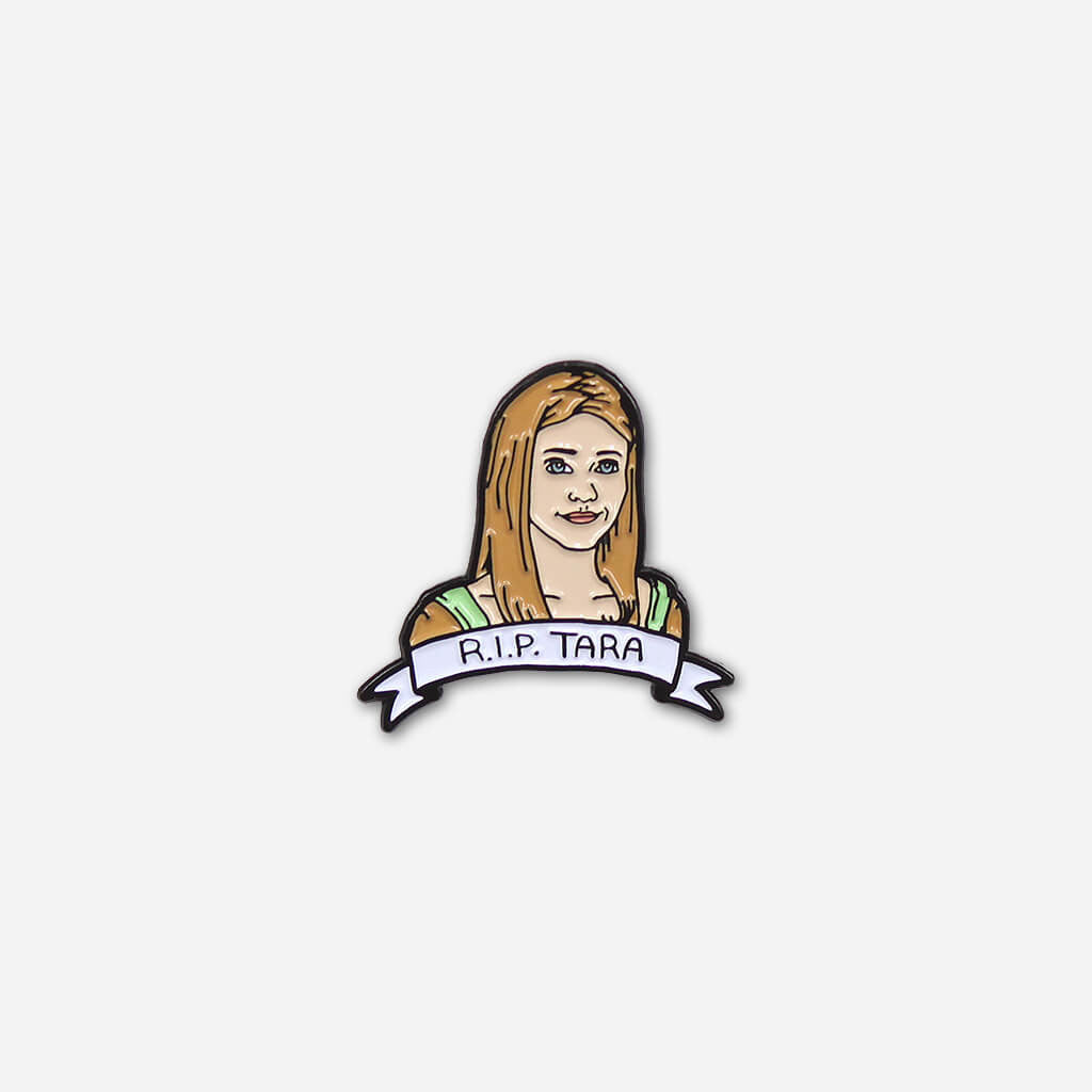 The Dead Lesbian Society Pin Pack #01 : Maya, Lexa, & Tara - Autostraddle - Hello Merch