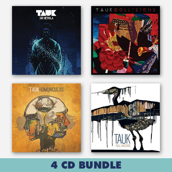 4 CD Bundle by TAUK for sale on hellomerch.com