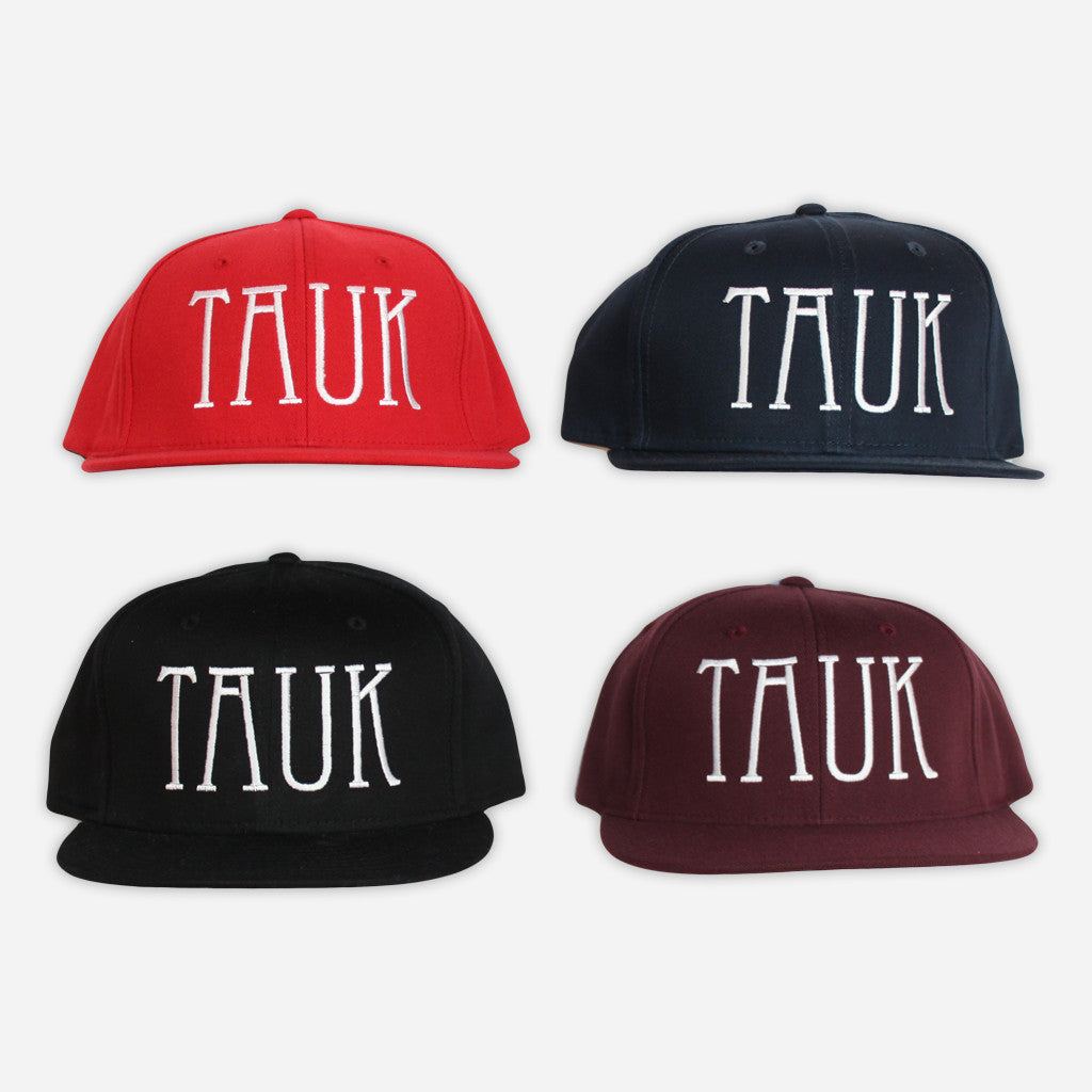 Logo Snapback Hats - TAUK - Hello Merch