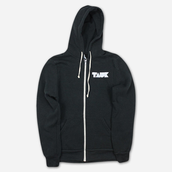 Headroom Logo Eco-Black Zip Hoodie by TAUK for sale on hellomerch.com