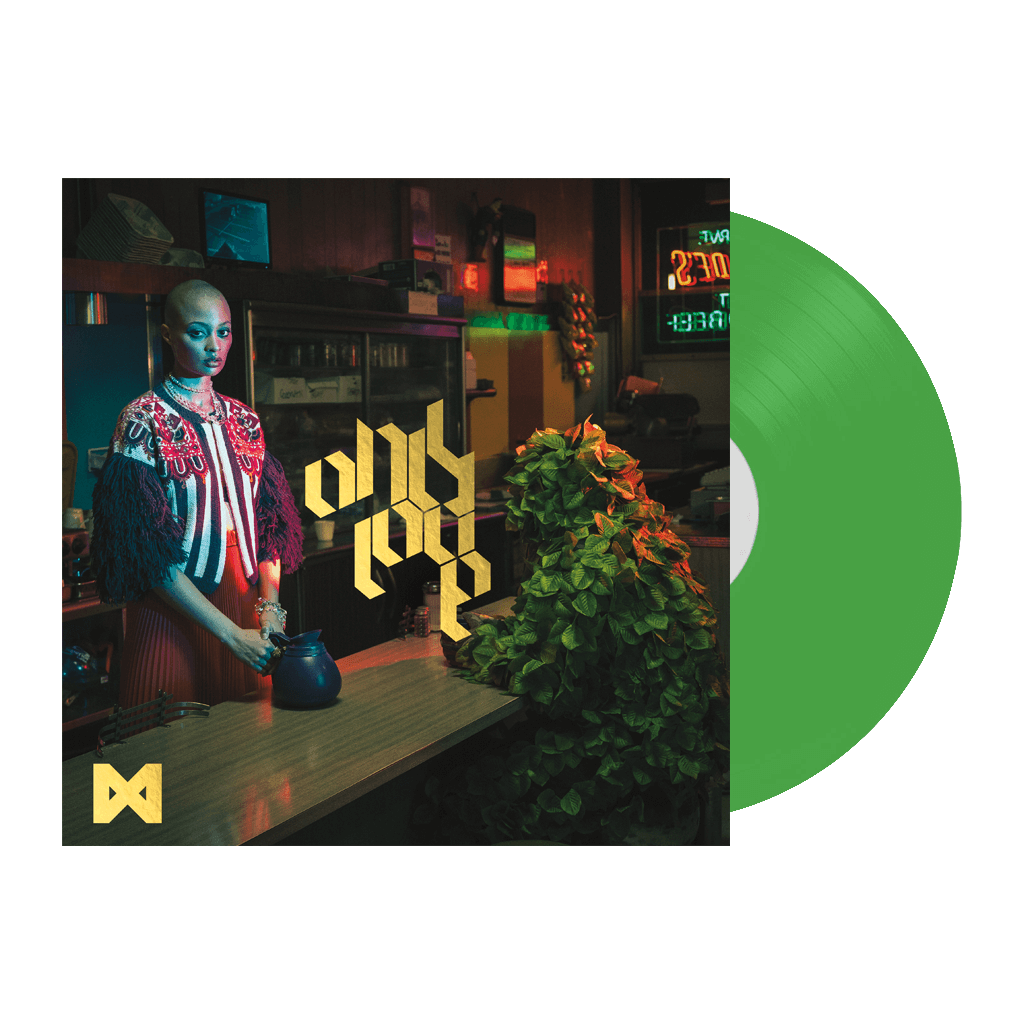 "Only Love 12"" Neon Green Vinyl"
