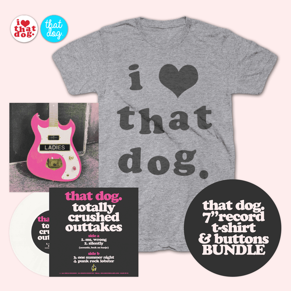 Totally Crushed Outtakes Bundle by that dog. for sale on hellomerch.com