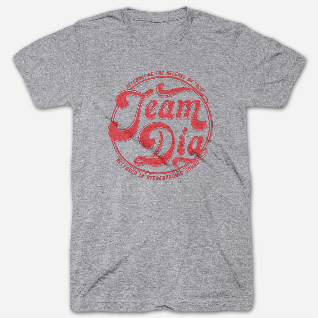 Team Dia Grey Tri-Blend - Dia Frampton - Hello Merch