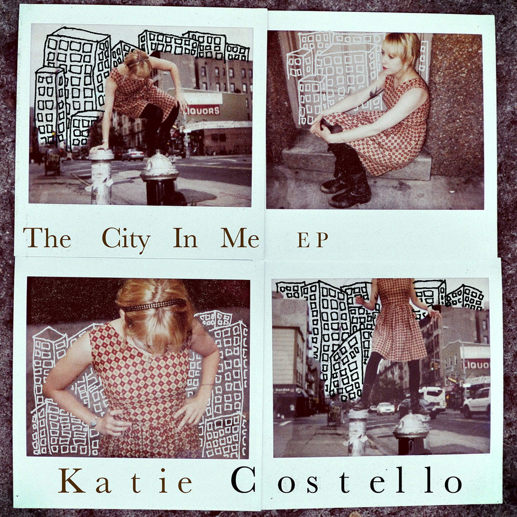 The City In Me - EP (Audio CD) - Katie Costello - Hello Merch