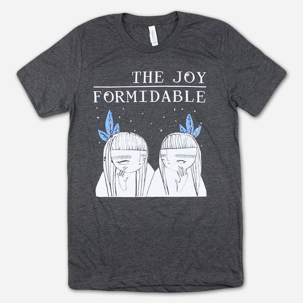 Twinkle And Gloom Heather Grey T-Shirt by The Joy Formidable for sale on hellomerch.com