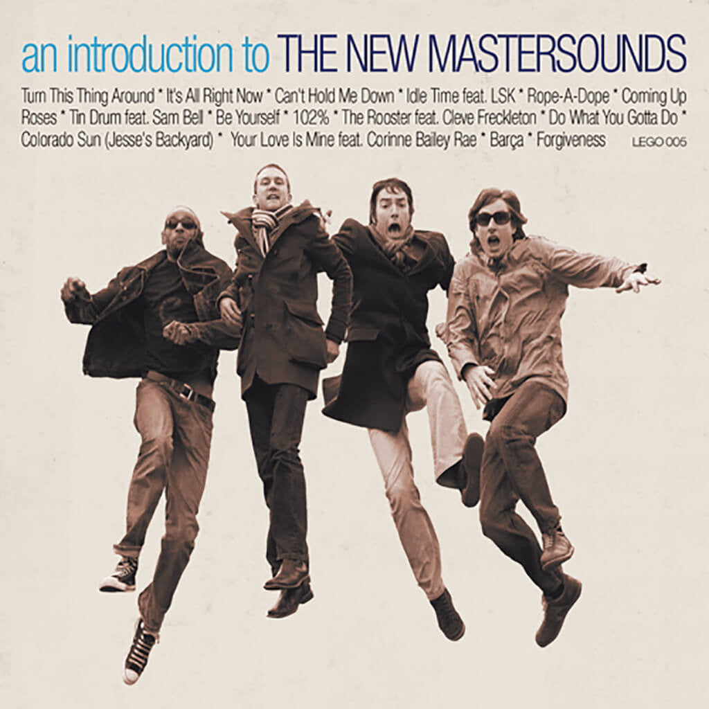 An Introduction To The New Mastersounds CD - The New Mastersounds - Hello Merch